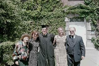 Marion Parnes, Daria, Adam, Jeff and Sarah Parnes